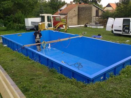 Stahl Pool Rechteckig Bq85 Hitoiro. Kv Kürschner